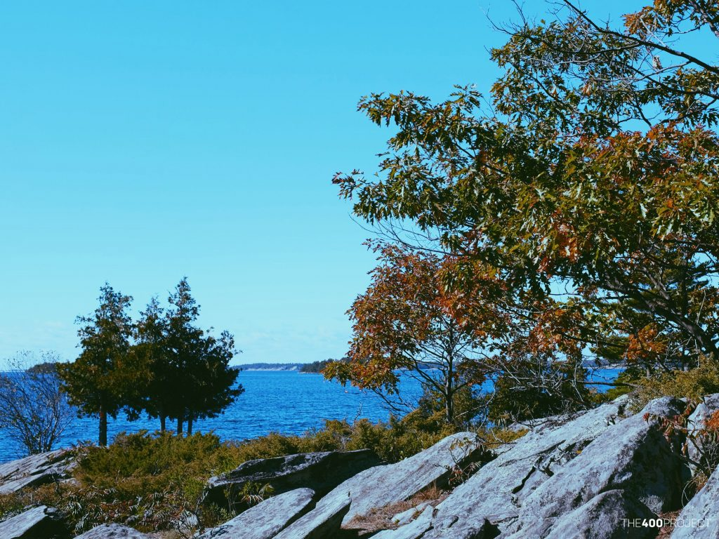 At Lighthouse Point overlooking Georgian Bay