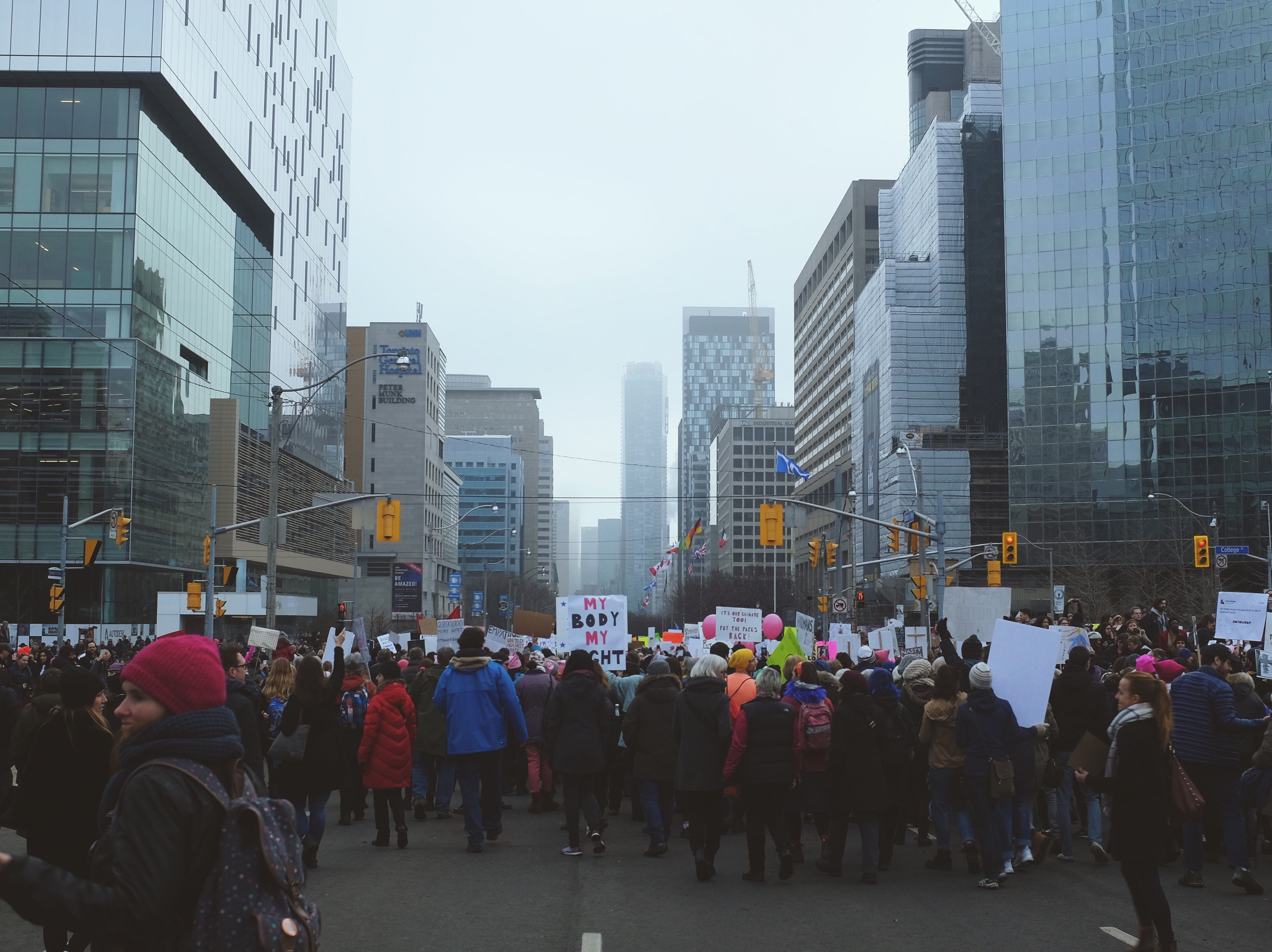 Women's March Toronto
