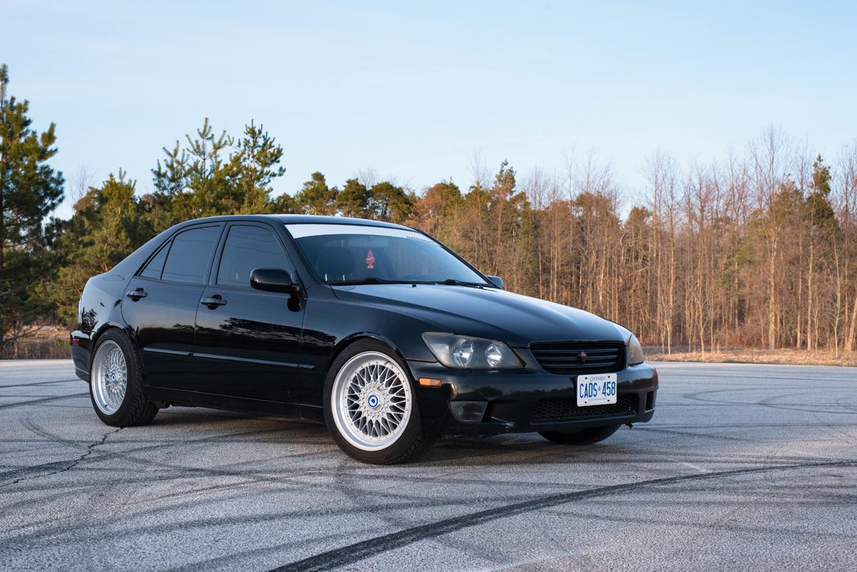 lexus is300 front