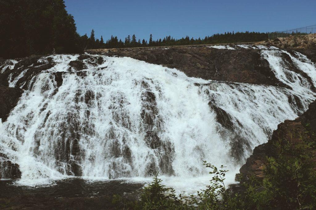 High Falls in Wawa.