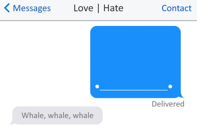 Love | Hate: SMS