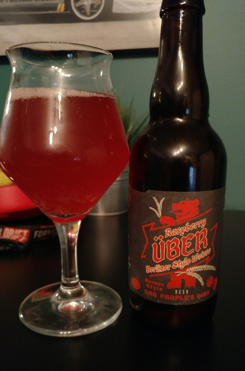 Nickelbrook Brewing | Uber Raspberry Berliner Weisse