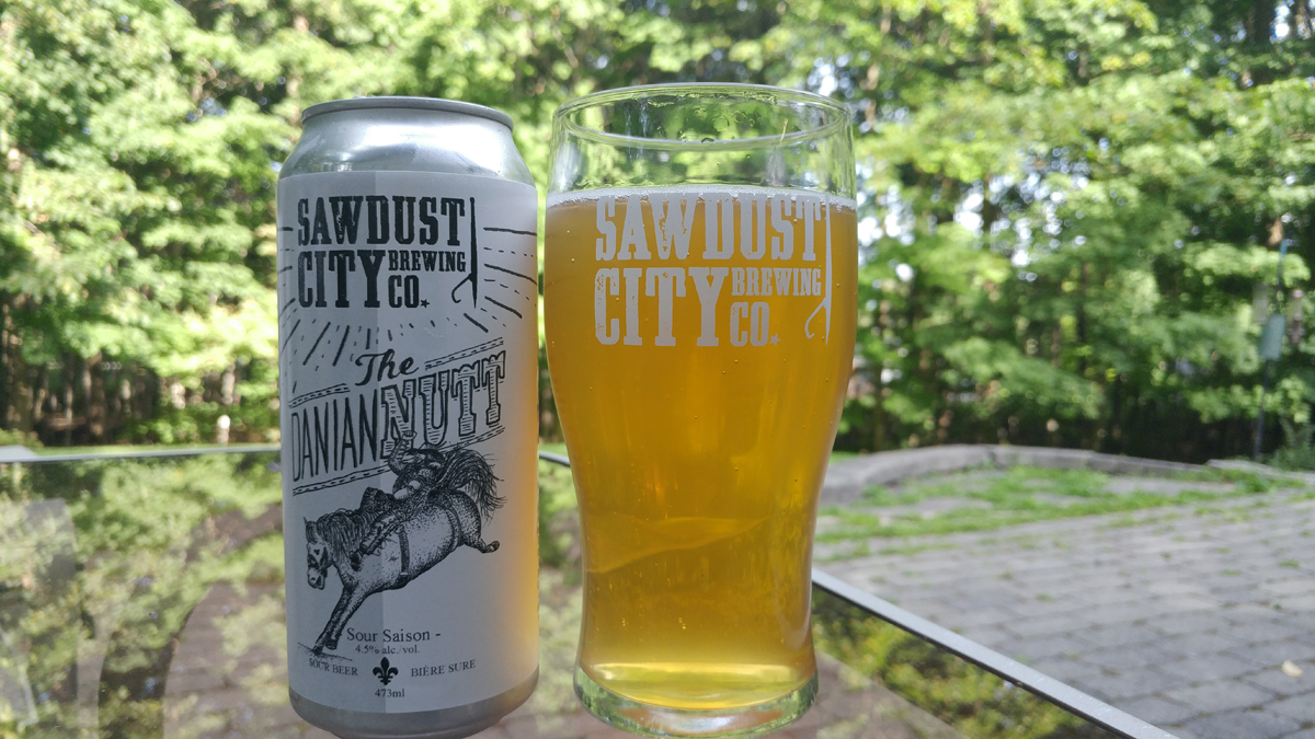 Sawdust City | The Daniannutt Sour Saison