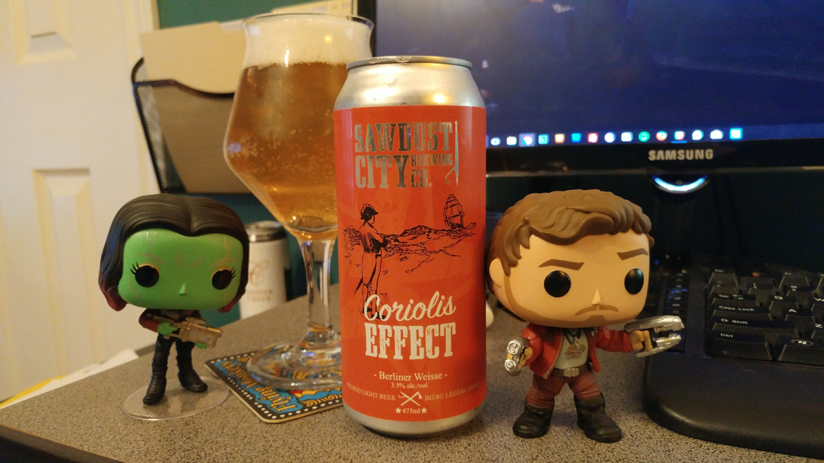 Sawdust City | Coriolis Effect Berliner Weisse