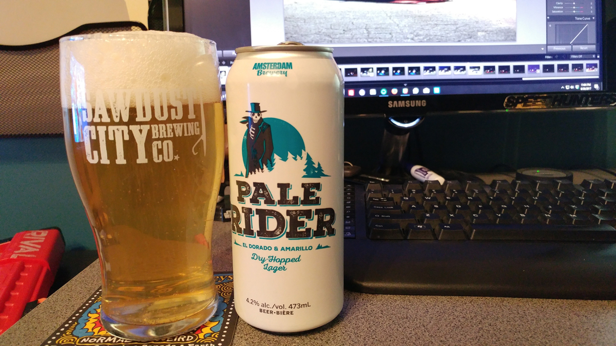 Amsterdam Brewery | Pale Rider Dry Hopped Lager