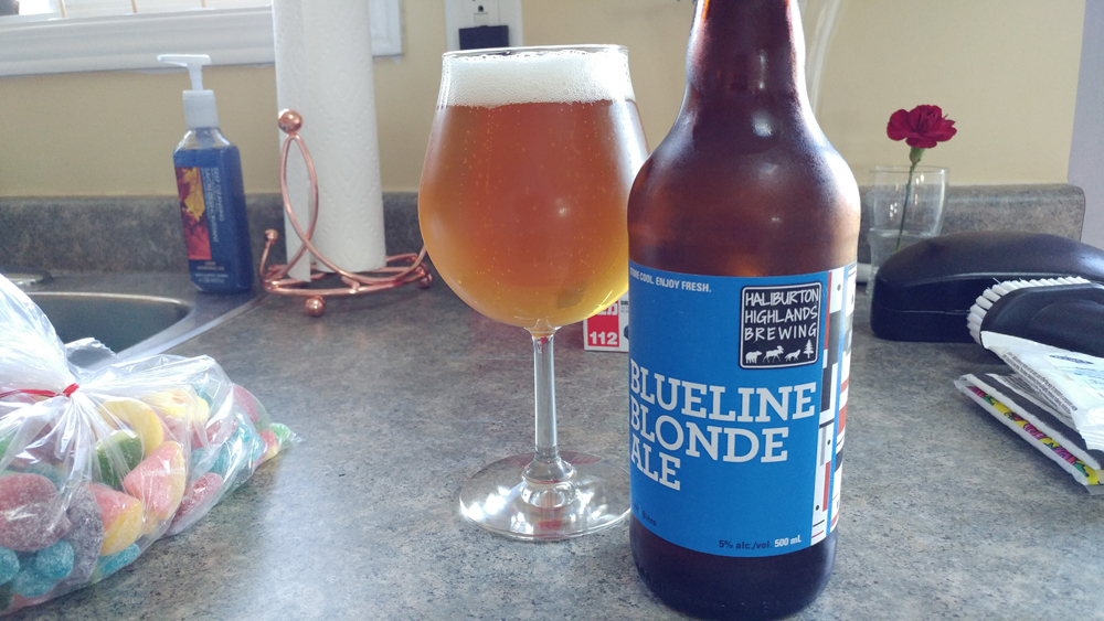 Haliburton Highlands | Blueline Blonde Ale