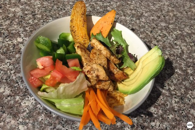 On the Menu: Spicy Chicken Bowl