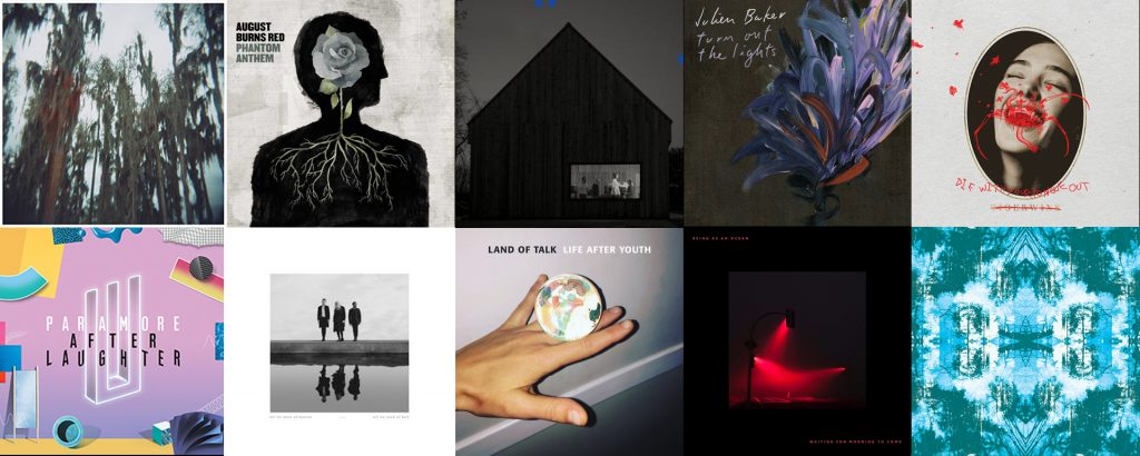 Top 10 Albums of 2017